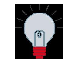 Icona ricerca e innovazione